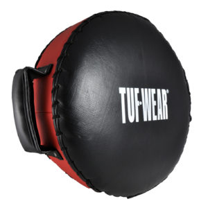 Tuf-Wear Combi Pad / Rounded Leather Punch Cushion – Black/Red