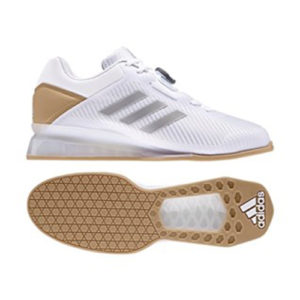 Adidas Leistung 16 II Weightlifting Shoes – White/Gold