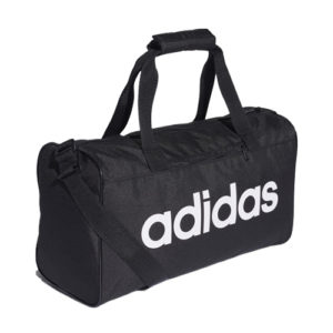 Adidas Linear Core Duffle Gym Bag – Black [XSmall/Junior]
