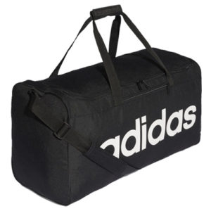 Adidas Linear Core Duffle Gym Bag – Black [Large]