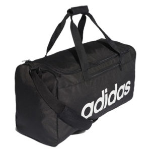 Adidas Linear Core Duffle Gym Bag – Black [Medium]