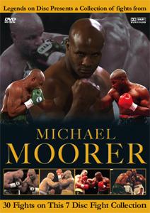 Legends On Disc – Michael Moorer 30 Fights on 7 Disc's