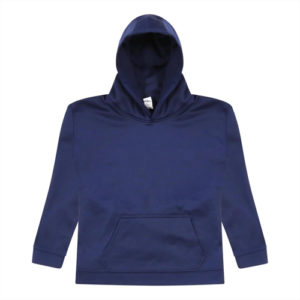 UNBRANDED Kids Sports Polyester Hoodie – Navy