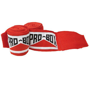 Pro-Box Junior Stretchable Hand Wraps – Red