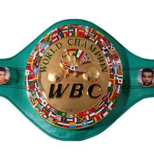 WBC Limited Edition Gold Plated WBC Championship Belt