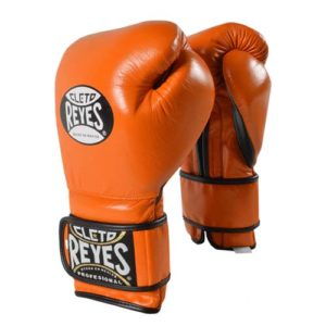 Cleto Reyes Hook and Loop Sparring Gloves – Orange