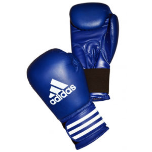 adidas 'PERFORMER' Boxing Gloves 'ClimaCool' – Blue