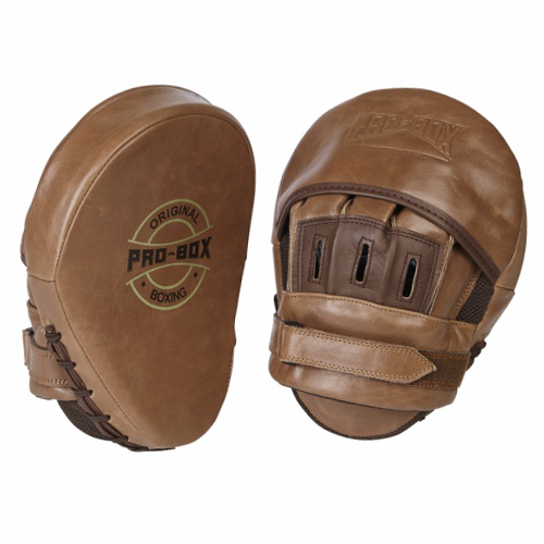 Pro-Box 'Original Collection' Hook and Jab Pads – Brown
