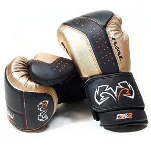 Rival RB10 Intelli Shock Bag Glove – Gold/Black