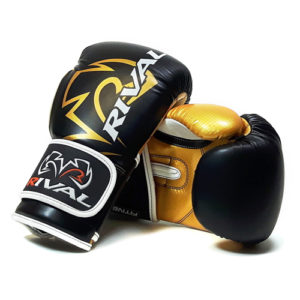 Rival RB7 Fitness and Bag Glove – Black/Gold