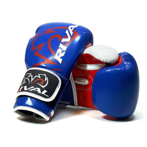 Rival RB7 Fitness and Bag Glove – Blue/White/Red