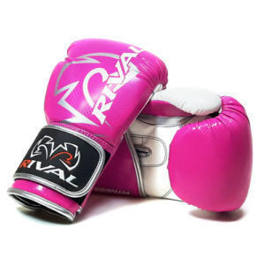 Rival RB7 Fitness and Bag Glove – Pink/White