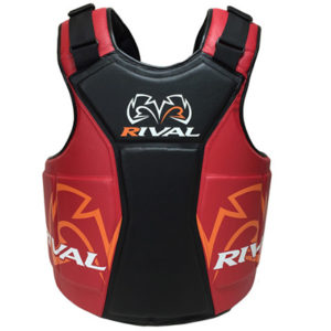 Rival Body Protector – The Shield – Black/Red