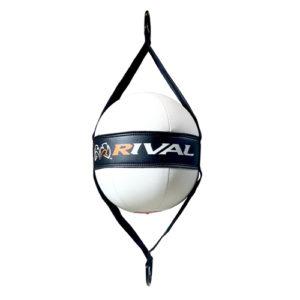 Rival Next Generation Double End Bag – White/Black/Orange
