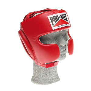 Pro-Box Supaspar Headguard – Red