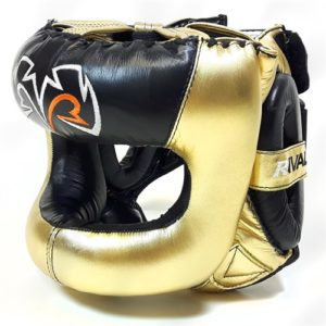 Rival Guerrero Facesaver Headgear – Gold/Black