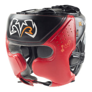 Rival RHG10 INTELLI-SHOCK Headgear –  Red/Black