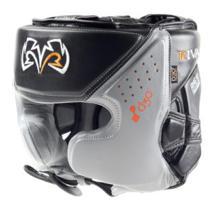 Rival RHG10 INTELLI-SHOCK Headgear – Black/Grey