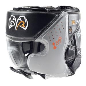 Rival RHG10 INTELLI-SHOCK Headgear – Black/Grey