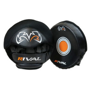 Rival RPM5-Parabolic Punch Mitts – Black