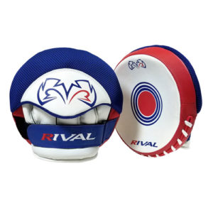 Rival RPM5-Parabolic Punch Mitts – Red/White/Blue