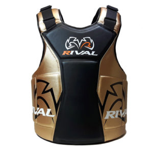 Rival Body Protector – The Shield – Black/Gold