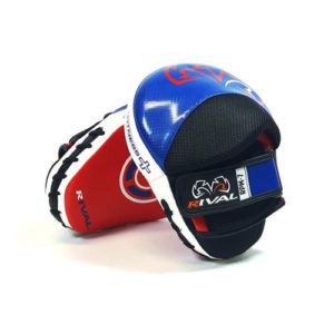 Rival RPM7 Fitness and Punch Mitts – Blue/White