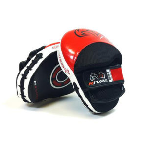 Rival RPM7 Fitness and Punch Mitts – Red/Black