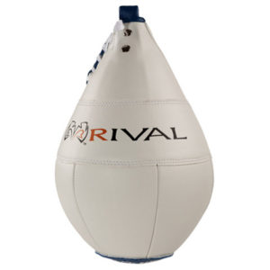 Rival Boxing Speed Bag 10″ x 7″ – White/Black