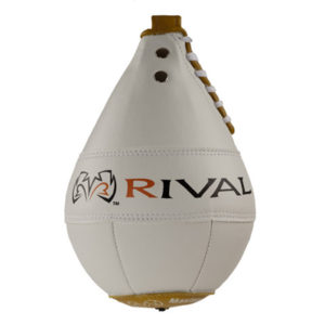 Rival Boxing Speed Bag 8″ x 5″ – White/Yellow