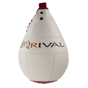 Rival Boxing Speed Bag 9″ x 6″ – White/Red