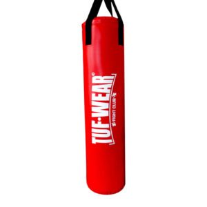 Tuf-Wear 6ft PU Punch Bag – Red [4ft, 5ft or 6ft]