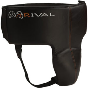 Rival RNFL3 Pro Leather 180 Groin Protector – Black