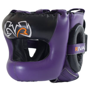 Rival Guerrero Facesaver Headgear – Purple/Black
