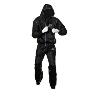 Rival Professional Hooded Sauna Suit – Black