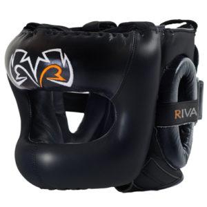 Rival Guerrero Facesaver Headgear – Black/Black