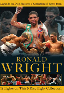 Legends On Disc – Ronald Wright 18 Fights on 5 DVD'S
