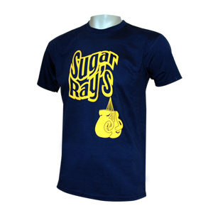 Sugar Ray's Glove Tee Shirt – Navy