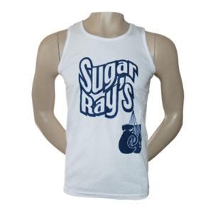 Sugar Ray's Glove Vest – White