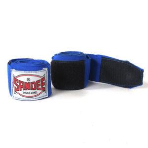 Sandee 5m Stretch Hand Wraps – Blue