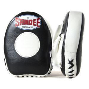 Sandee Leather Mini Focus Mitt – Black/White