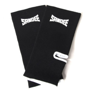 Sandee Premium Ankle Supports (pair) – Black/White
