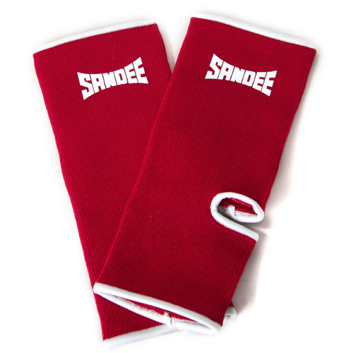 Sandee Premium Ankle Supports (pair) – Red/White
