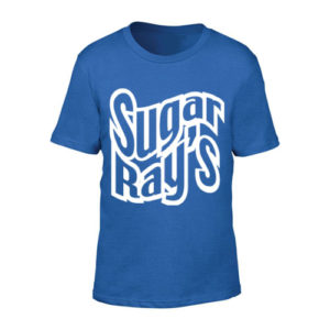 Sugar Ray's Junior T-Shirt with Large Logo – Blue