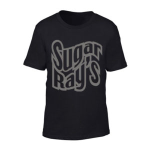 Sugar Ray's Junior T-Shirt with Large Logo – Black