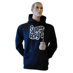 Sugar Ray's Glove Logo Hooded Top Black
