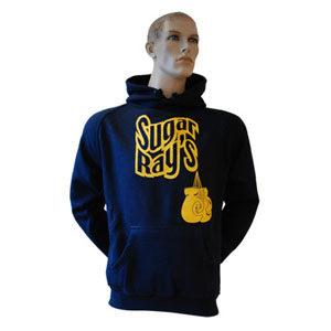 Sugar Ray's Glove Logo Hooded Top Navy