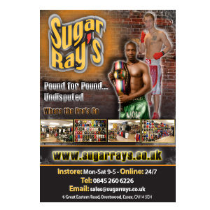 Sugar Ray's Where The Pro's Go Poster