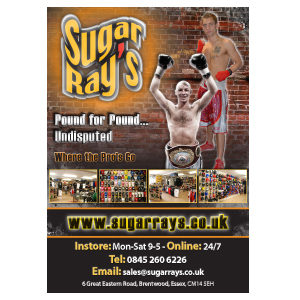 Sugar Ray's Where The Pro's Go Poster 2