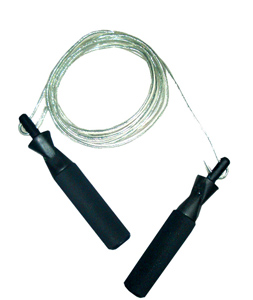 Ampro Adjustable Length Wire Skipping Rope